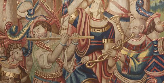 Tapestries Portuguese in India